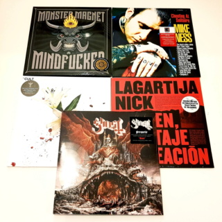 Electric Vinyl Records Novedades!!! http://electricvinylrecords.com/es/ 20190325