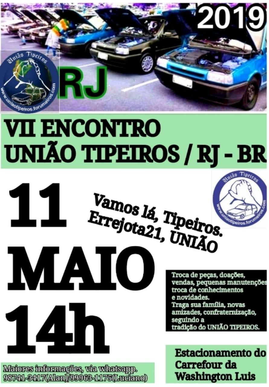 Encontro Uniao Tipeiros - Rio de Janeiro - 11/05/2019 Encont11