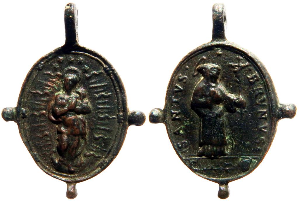 Inmaculada Concepción / San Bruno de Colonia - s. XVII 000010