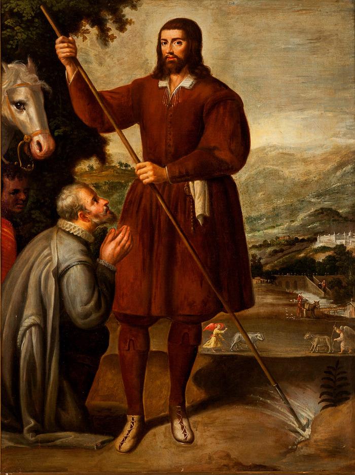 San Ignacio de Loyola / San Isidro Labrador  (R.M. SXVII-O534) 00_aa_10