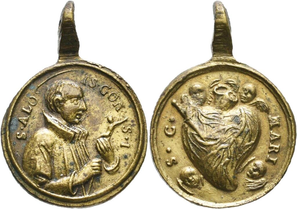 San Luis Gonzaga / Sagrado Corazón de María - s. XVIII 01258710