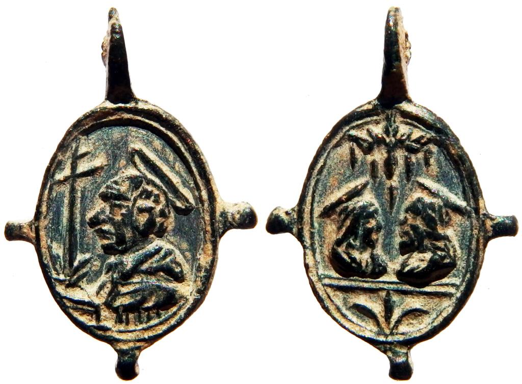 San Carlos Borromeo / Salvator Mundi y Mater Salvatoris - s. XVII (R.M. SXVII-O547) 0_51_110