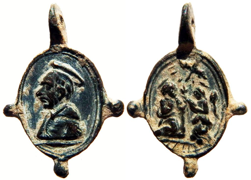 San Carlos Borromeo / Anunciación - s. XVII (R.M. Pe Carlos Borromeo 41) 0_62_110