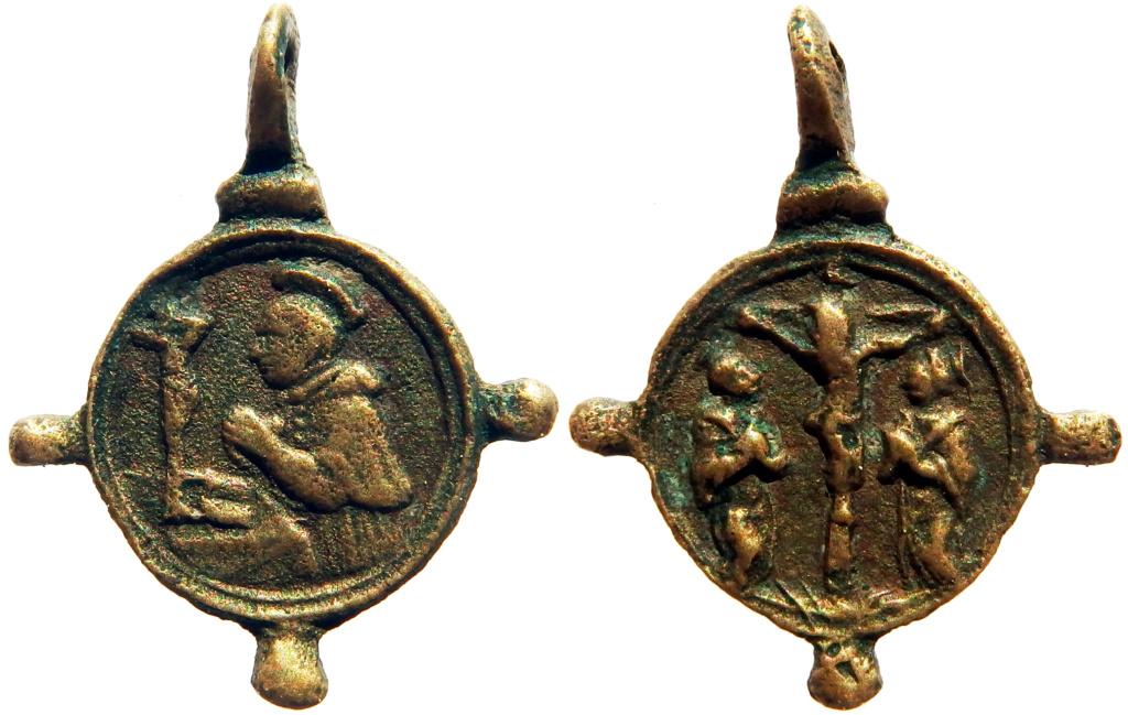 San Carlos Borromeo / Crucifixión - s. XVII (R.M. SXVII-C109) 0_63_111