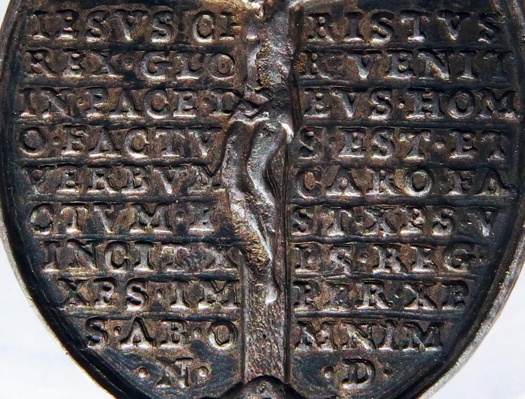 San Bruno de Colonia / Crucifixión con oración protectora (R.M. SXVIII-O451) 14_32-10