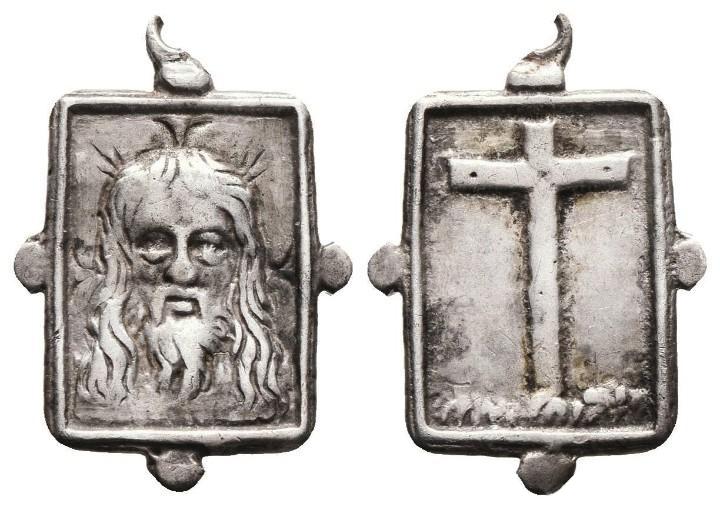 Santa Faz / Cruz latina - s. XVII (R.M. SXVII-Ot101) 1_11_210