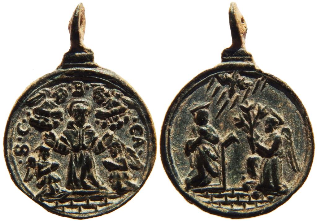San Carlos Borromeo / Anunciacion S. XVII  (R.M. SXVII-C21) 1_37-210