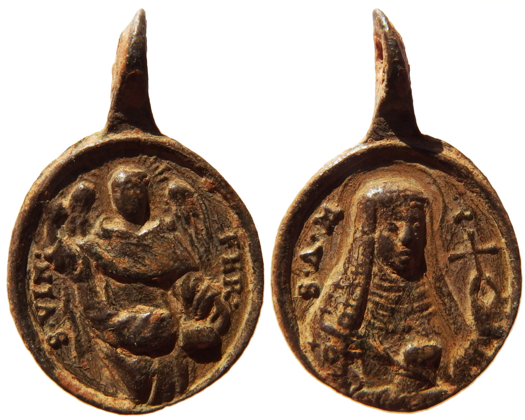 Santa Inés de Montepulciano / San Vicente Ferrer - MR558- ( R.M. SXVIII-C141) 1_47_210