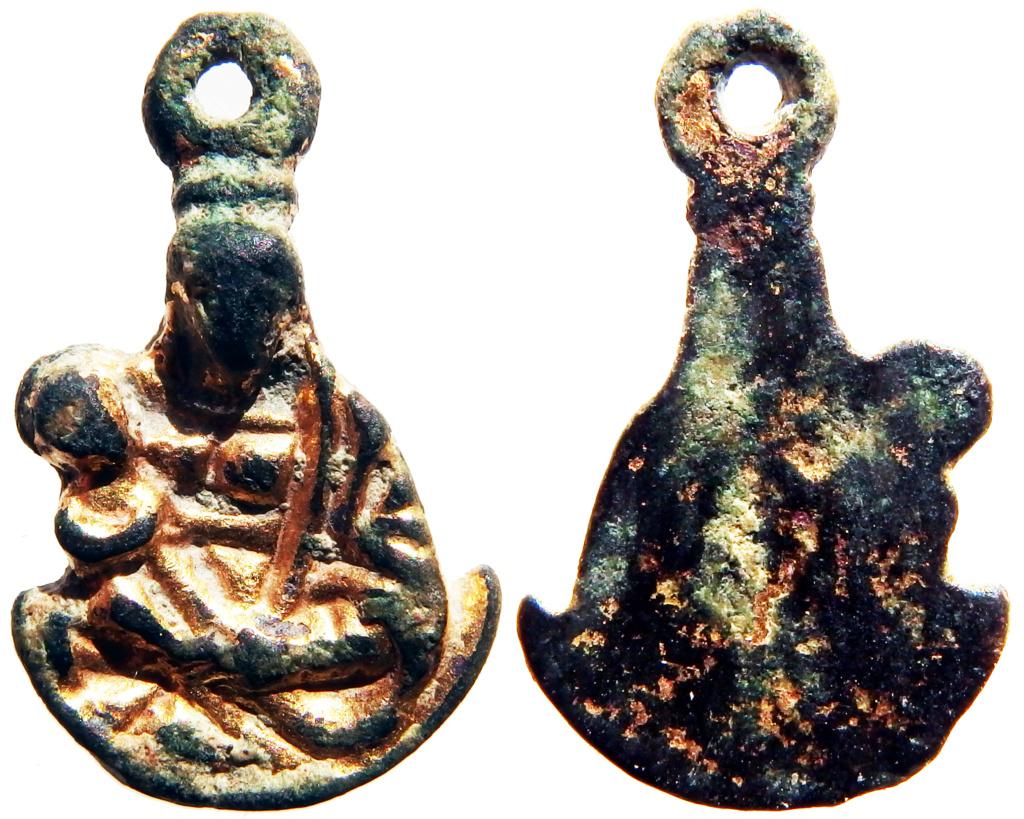 Virgen con Niño - s. XVII , XVIII 1_49_210