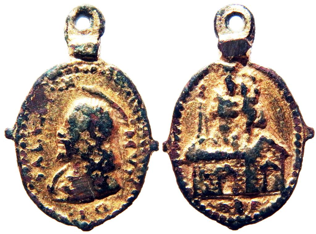 Salvator Mundi / Translación de la Santa Casa de Loreto - s. XVII (R.M. Pe Salvator 28) 1_60-210