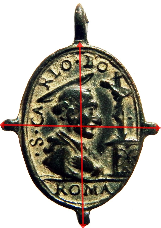 San Carlos Borromeo / Santo Clavo de Milán - s. XVII 1_67_211