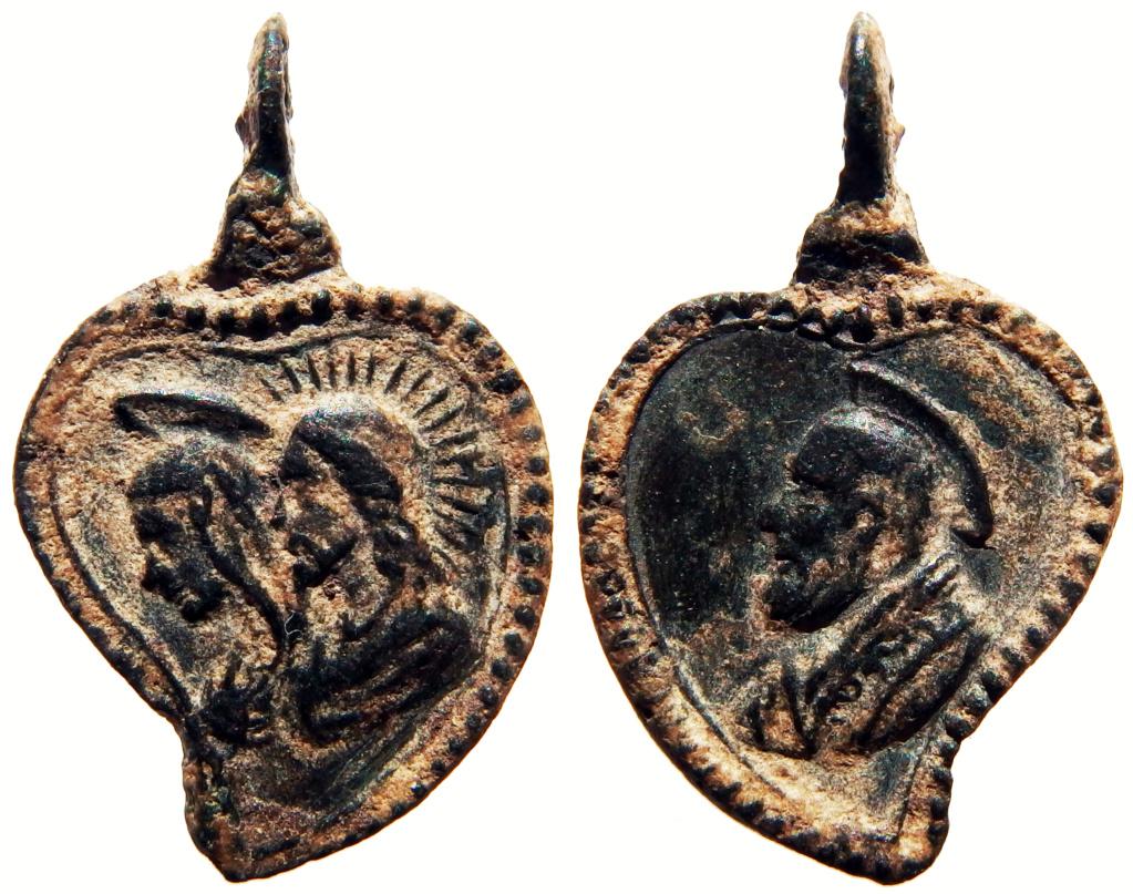 Jesucristo y Virgen María / San Felipe Neri - S. XVII 1_92_211