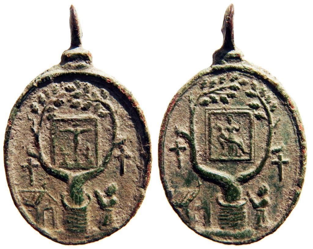 Medalla del Crucifijo y Notre-Dame de Banelle, s. XVII 211