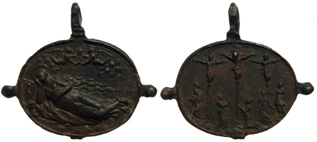 Santa María Magdalena / Crucifixión (R.M.  SXVII-Ot94) 26-18x11