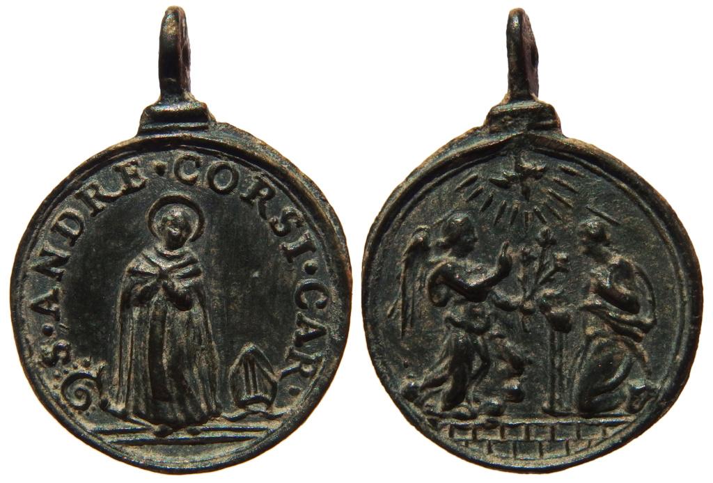 San Andrés Corsini / Anunciación  (R.M.SXVII-C93)  29-22x10