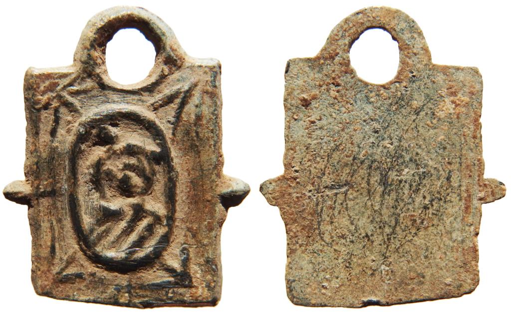 Medalla de San Cristobal? - S. XVII 2_12_210
