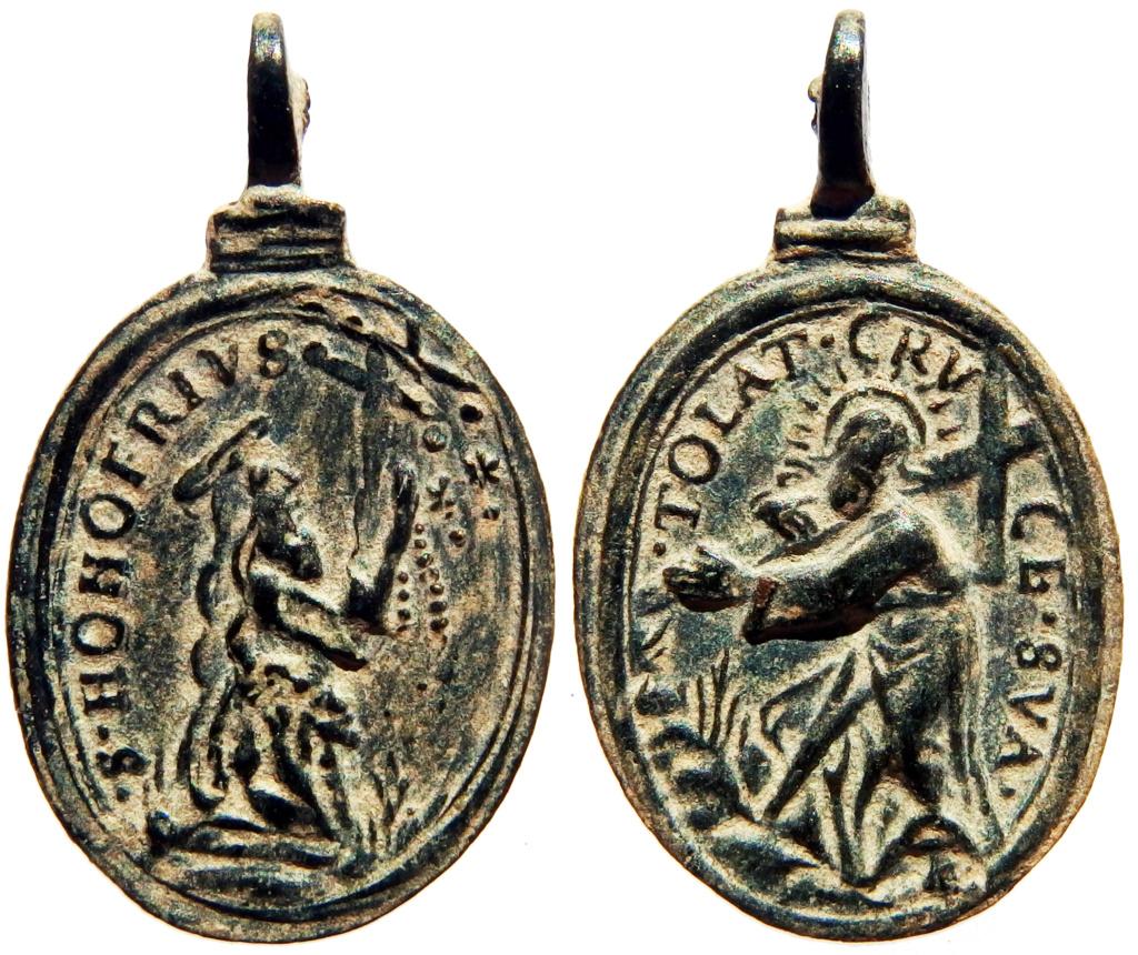 San Onofre / Jesús camino del Calvario - s. XVII (R.M. SXVII-O538) 2_22_210