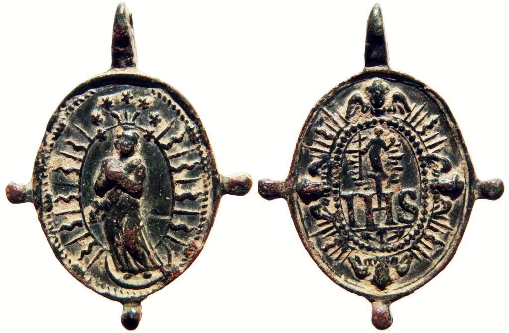 Inmaculada Concepción / IHS Nómina Sacra - s. XVII 2_30_311