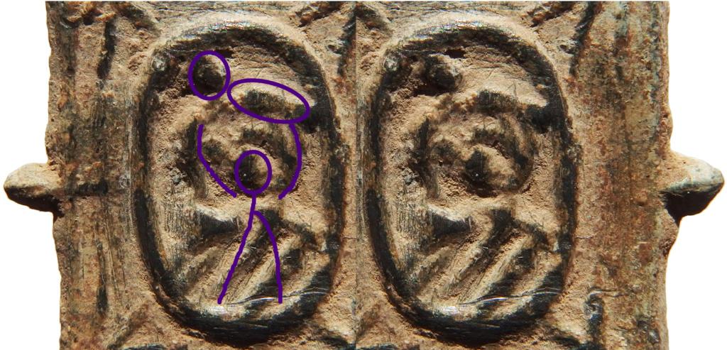 Medalla de San Cristobal? - S. XVII 2s10