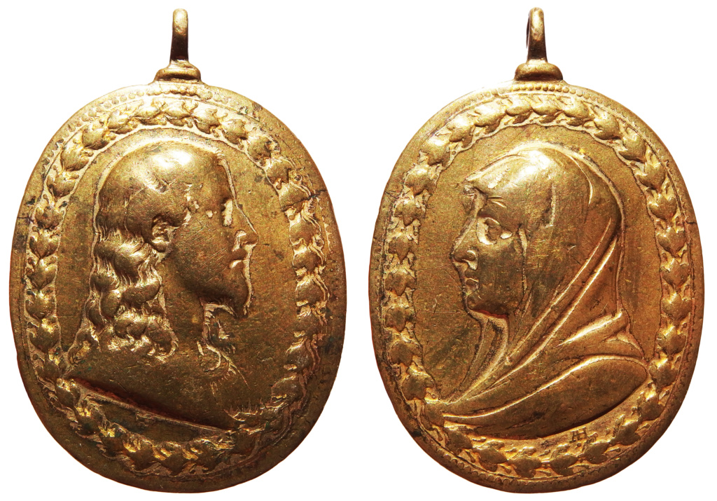 Salvator Mundi / Mater Salvatoris - S. XVII (Hamerani) 33_76_10