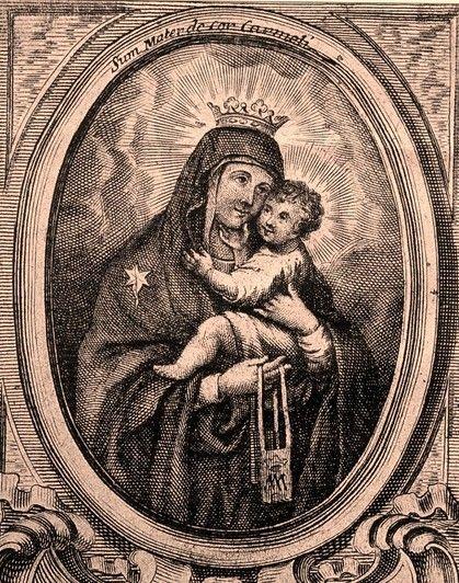 San Juan de la Cruz / Virgen del Carmen - s. XVIII 34829310