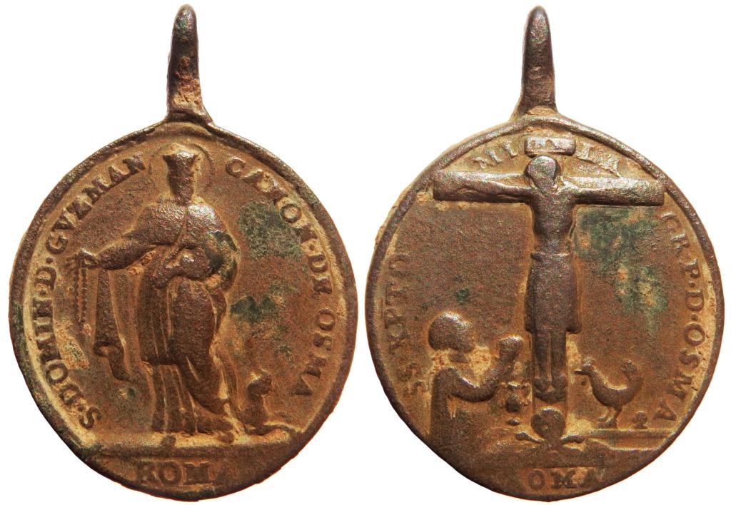 Santo Domingo de Guzmán / Santísimo Cristo del Milagro  (R.M. SXVIII-O433 40-31x10