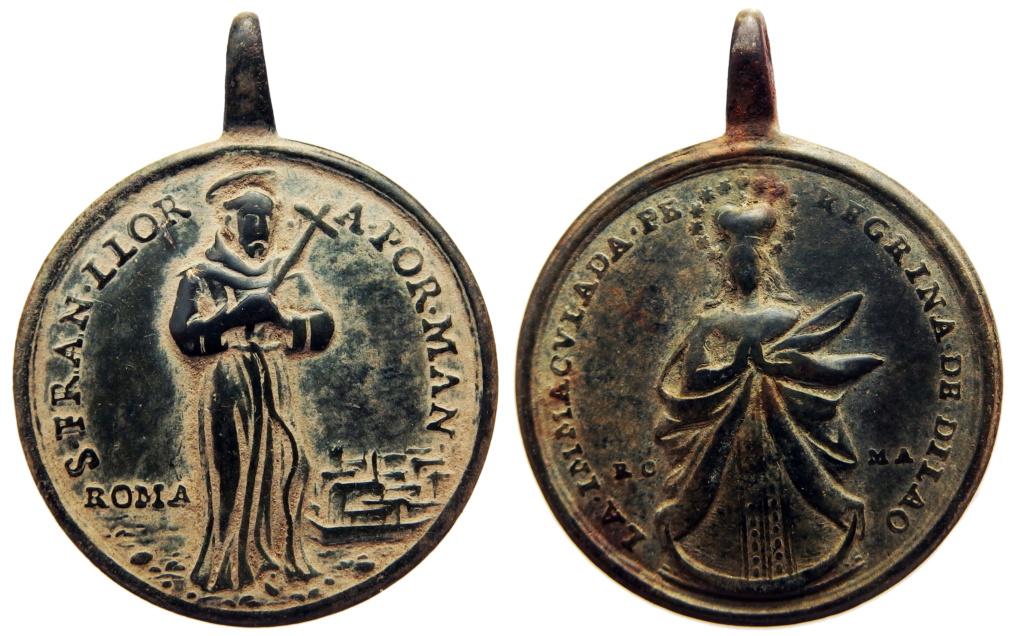 San Francisco de Asís / Inmaculada Peregrina de Dilao - (R.M. SXVIII-C179) 45x35_10