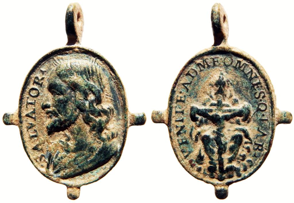 Salvator Mundi / Santísima Trinidad - s. XVII 4_34_310
