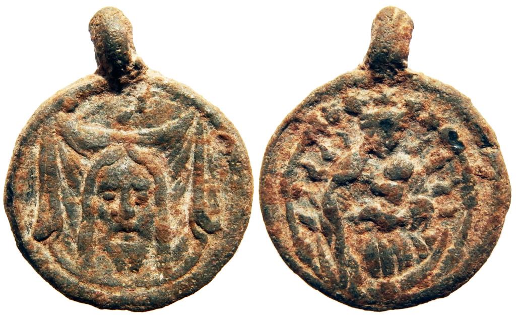 Santa Faz - Paño de la Verónica / Inmaculada Concepción - s. XVI (R.M. SXVI-C27) 5_70_210