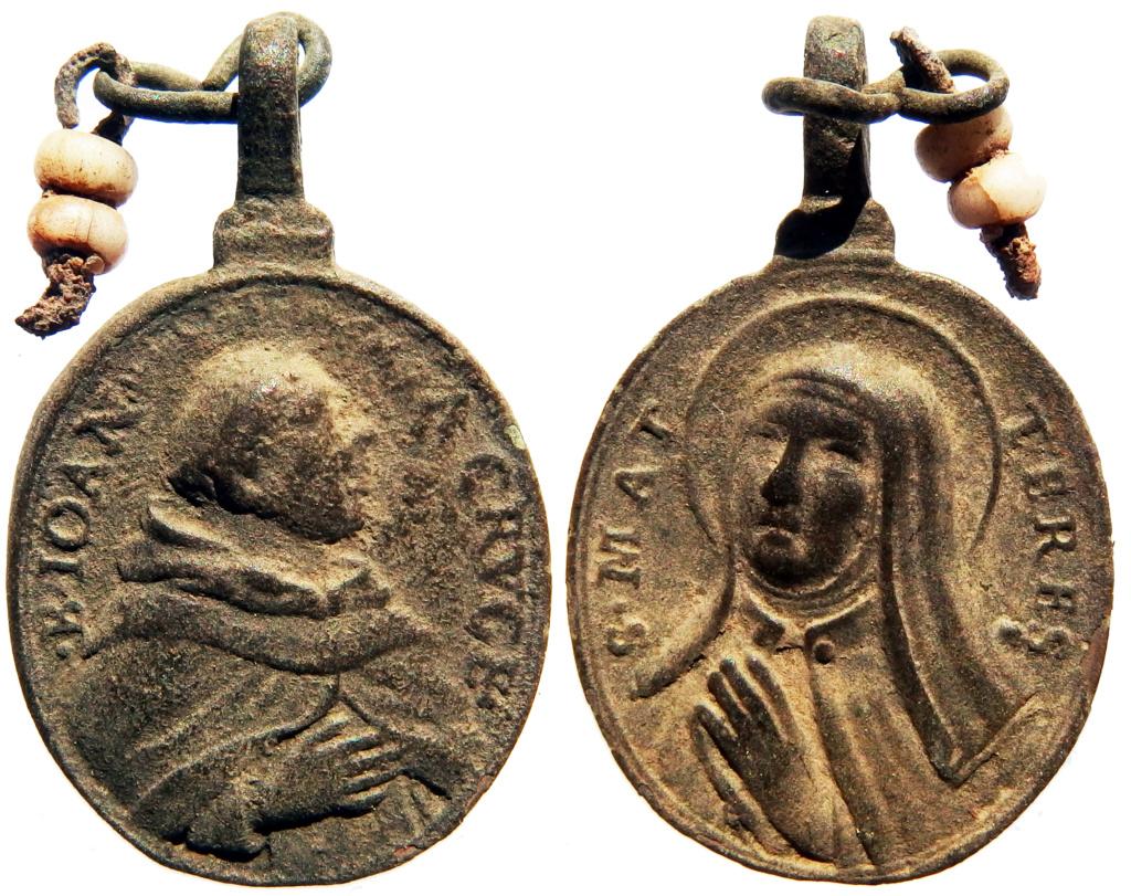 Beato Juan de la Cruz / Santa Teresa de Jesús - s. XVII 6_58_311
