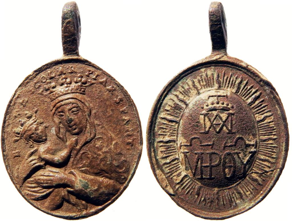 Nuestra Señora de las Escuelas Pías / Emblema Escolapios - s. XVIII (R.M. SXVIII-O465) 7_00-311