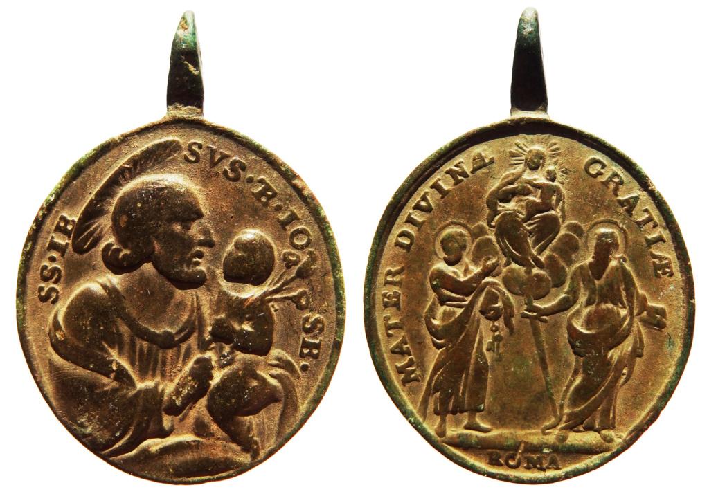 San José / San Pedro, San Pablo y la Virgen - S. XVIII (R.M. SXVIII-O418) 9_71_310