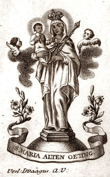 San Juan Nepomuceno / Nuestra Señora de Altötting - s. XVIII Alt10
