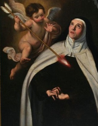 San Felipe Neri / Transverberación Santa Teresa de Jesús - s. XVII Bc9b2910