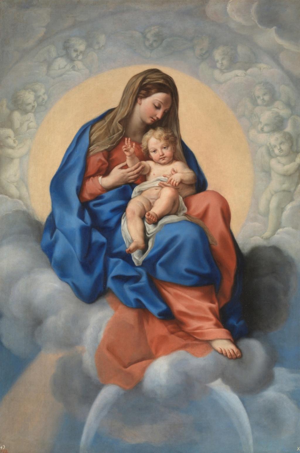 San José / San Pedro, San Pablo y la Virgen - S. XVIII (R.M. SXVIII-O418) Fcc8a310