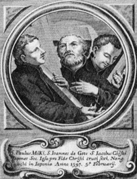 San Francisco de Borja / Mártires jesuitas del Japón - s. XVIII Martir10