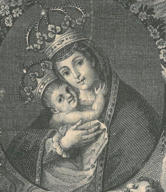 Virgen de Belén / Crucificado con oración protectora - s. XVIII Nuestr10