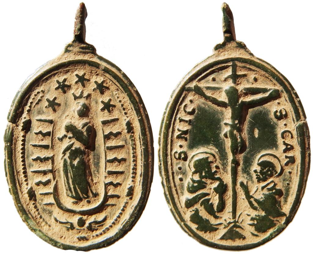 Inmaculada Concepción / Crucifixión - s. XVII ( R.M. SXVII-O564) P1160010
