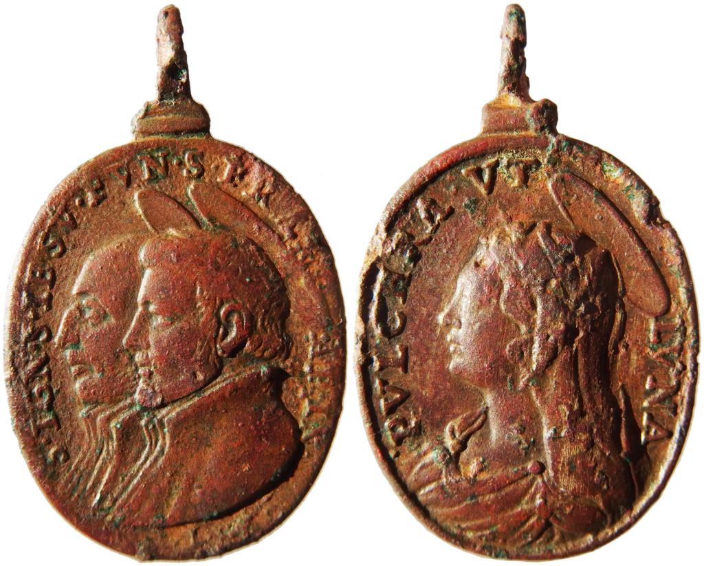 San Ignacio de Loyola y San Francisco Javier / Pulchra ut luna - s. XVII (Hamerani) P1160012