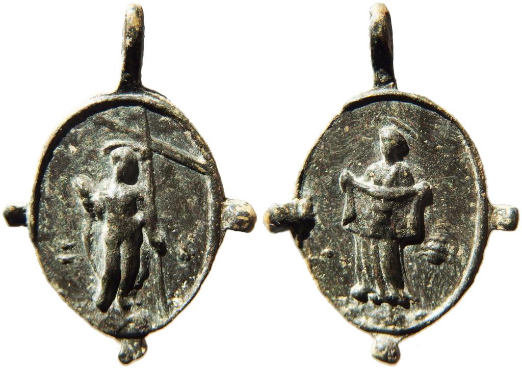 Cristo resucitado / Santa Verónica - s. XVII P1160018