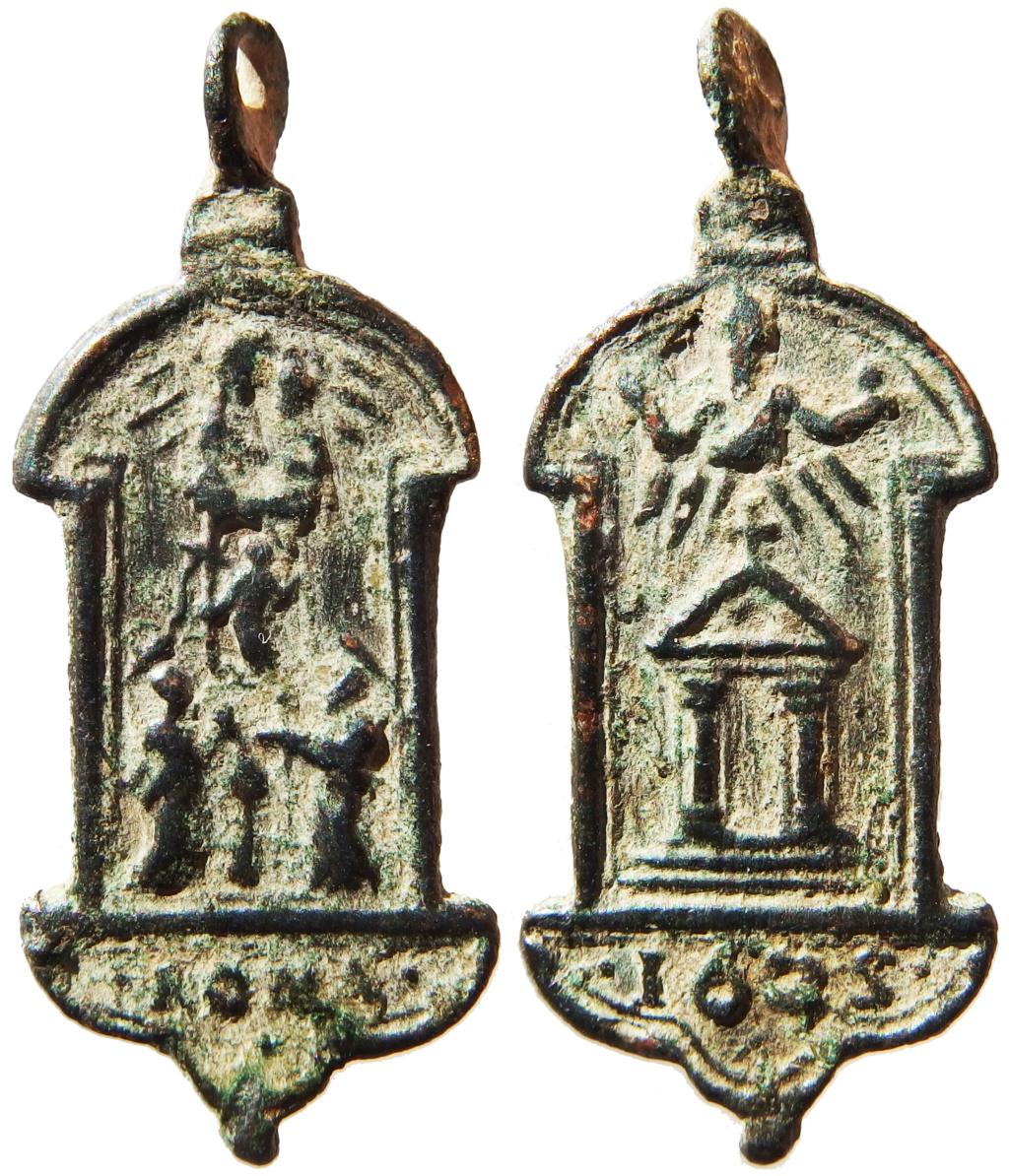 San Pedro y San Pablo, Cristo Resucitado y la Virgen / Puerta Santa - 1625 P1160030