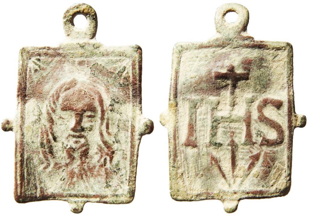 Santa Faz / IHS Nómina Sacra - s. XVII P1160032