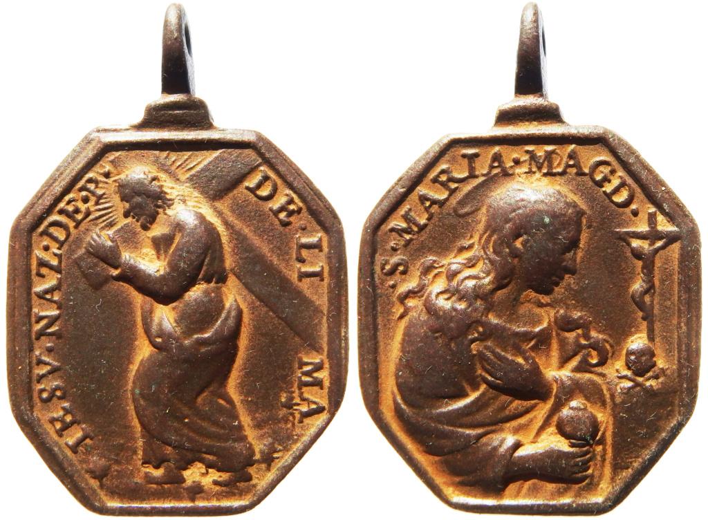 Jesús con la Cruz a Cuestas (Nazareno de Lima) / Santa María Magdalena - s. XVII P1270110