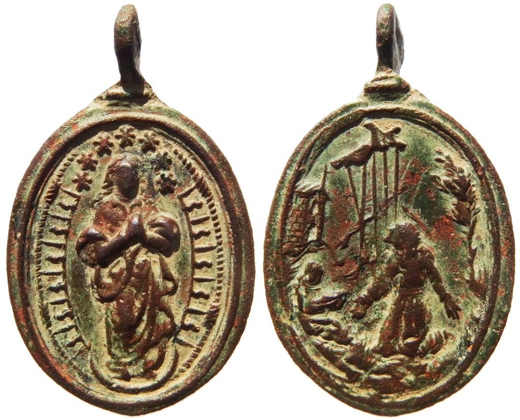 Inmaculada Concepción / San Francisco de Asís - s. XVII P1270111