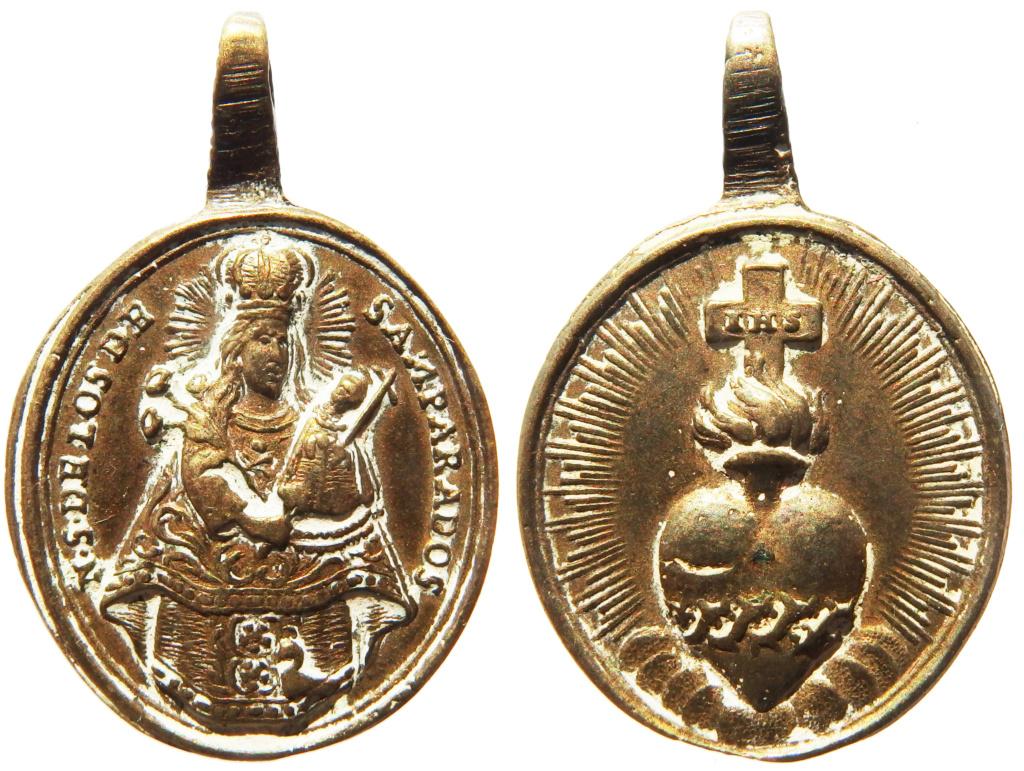 Nuestra Señora de los Desamparados / Sagrado Corazón de Jesús - s. XVIII P1270112