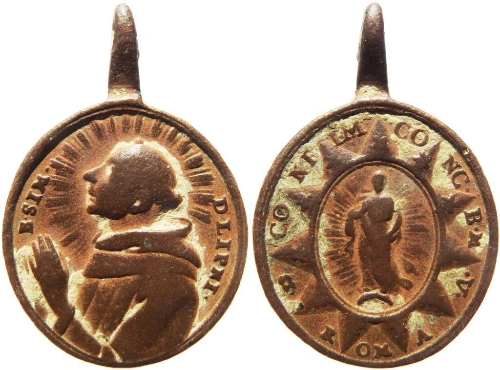 Beato Simón de Lipnica / Inmaculada Concepción - s. XVII P1270114