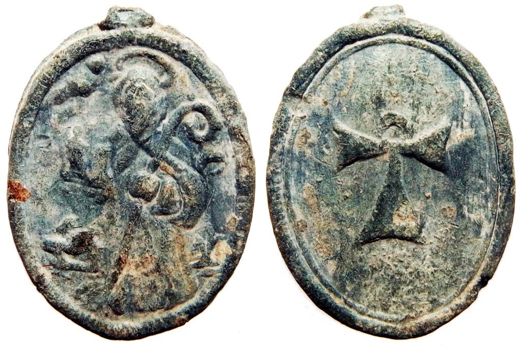 San Antonio Abad (S. Antón) / Cruz Tau - s. XVII P1270115