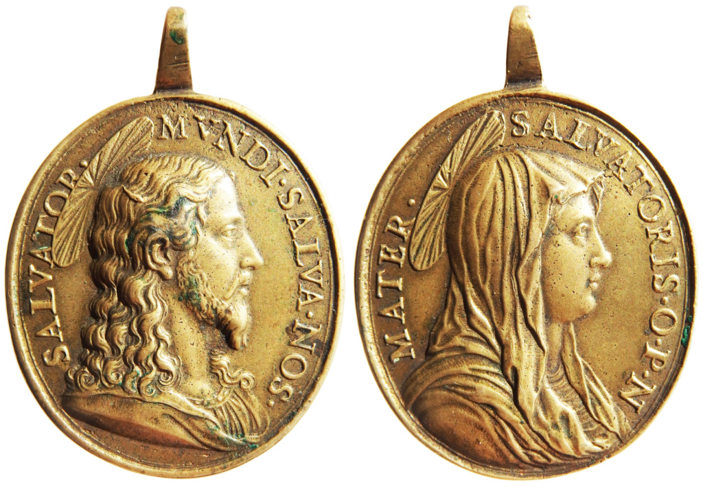 Salvator Mundi / Mater Salvatoris - s. XVIII P1290010