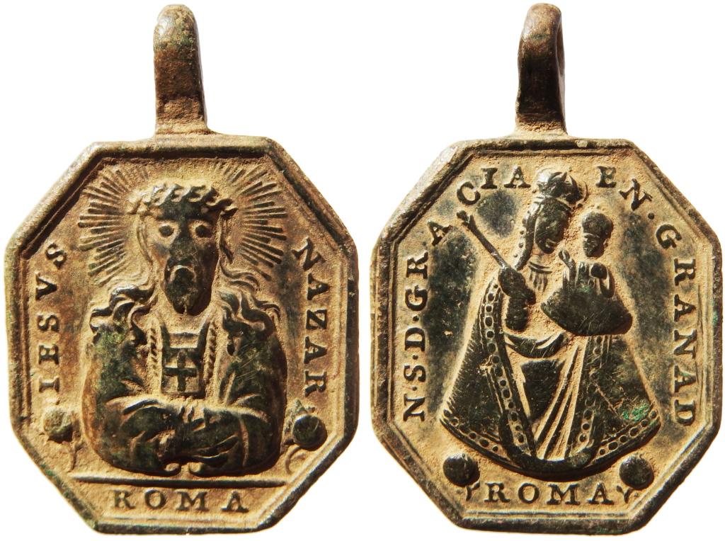 Jesús Nazareno (Cristo del Rescate) / Virgen de Gracia de Granada - s. XVIII P1290013