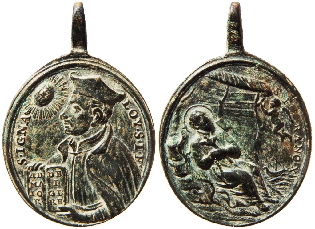 San Ignacio de Loyola / Muerte de San Francisco Javier - s. XVIII P1290014